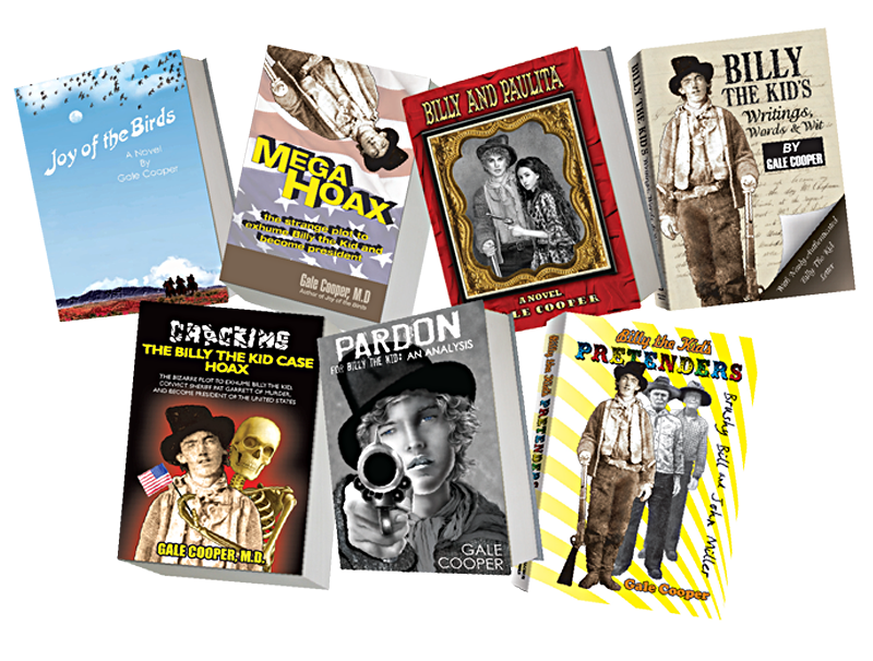 billy the kid books